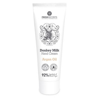 FRESH SECRETS Hand Cream Donkey Milk & Argan Oil