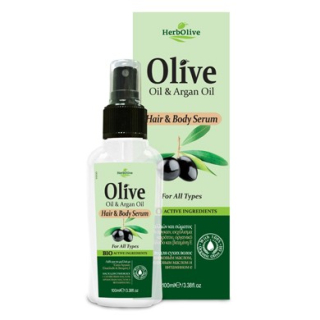 HERBOLIVE Hair & Body Serum