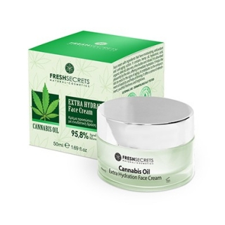 Fresh Secrets Face Cream Extra Hydration With Cannabis