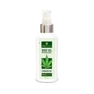 Fresh Secrets Body Oil Multi Functional With Cannabis