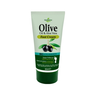 HERBOLIVE MINI FOOT CREAM ALOE