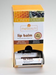 LIP BALM BEESWAX  HONEY -OLIVE